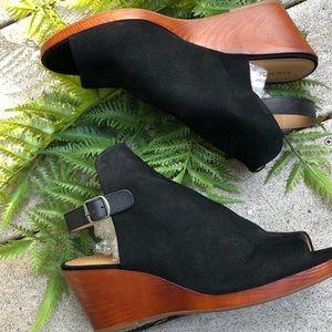 Lucky Brand Keralin Wedge Sandal Peep Toe